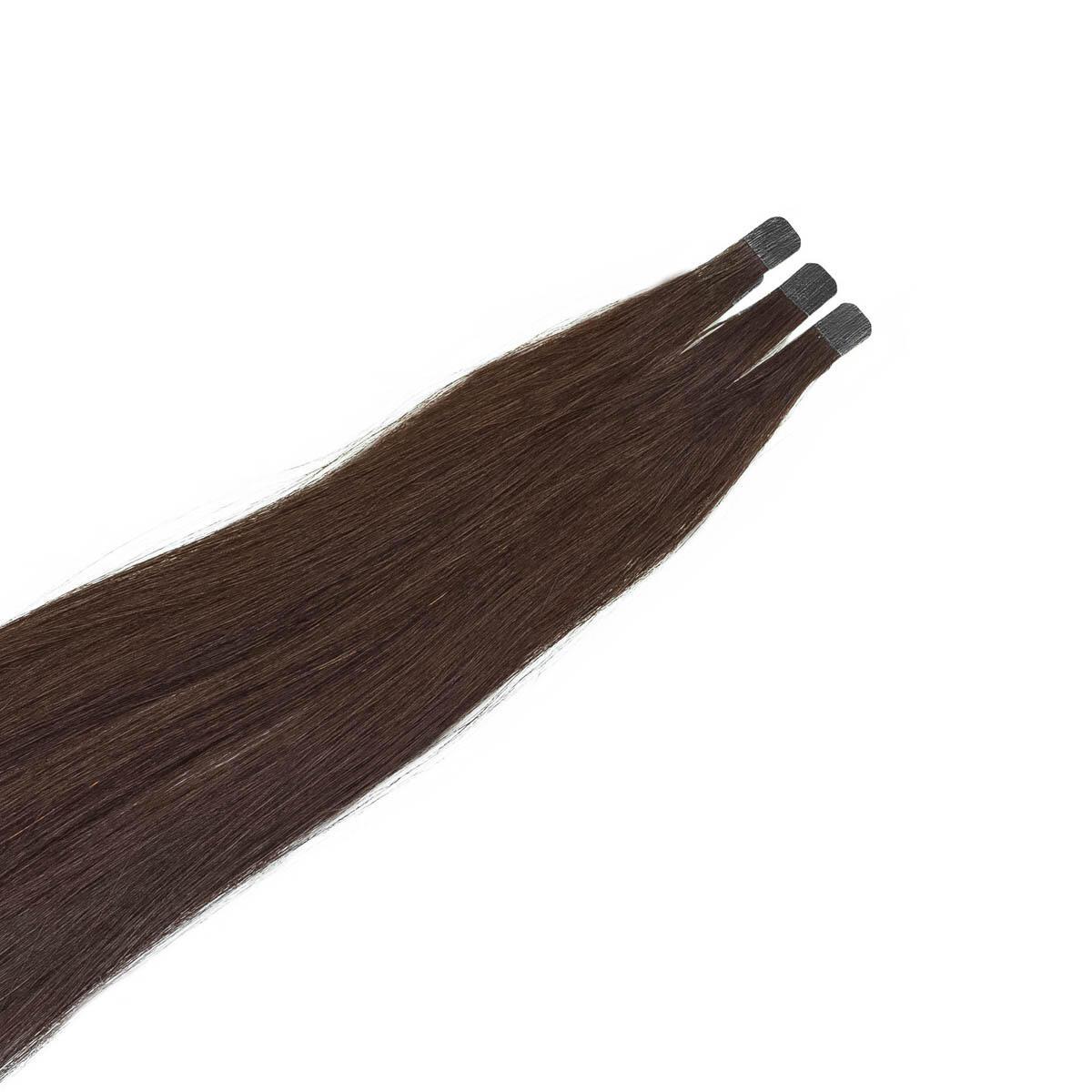 Quick & Easy Mini Premium Glatt 2.0 Dark Brown 50 cm