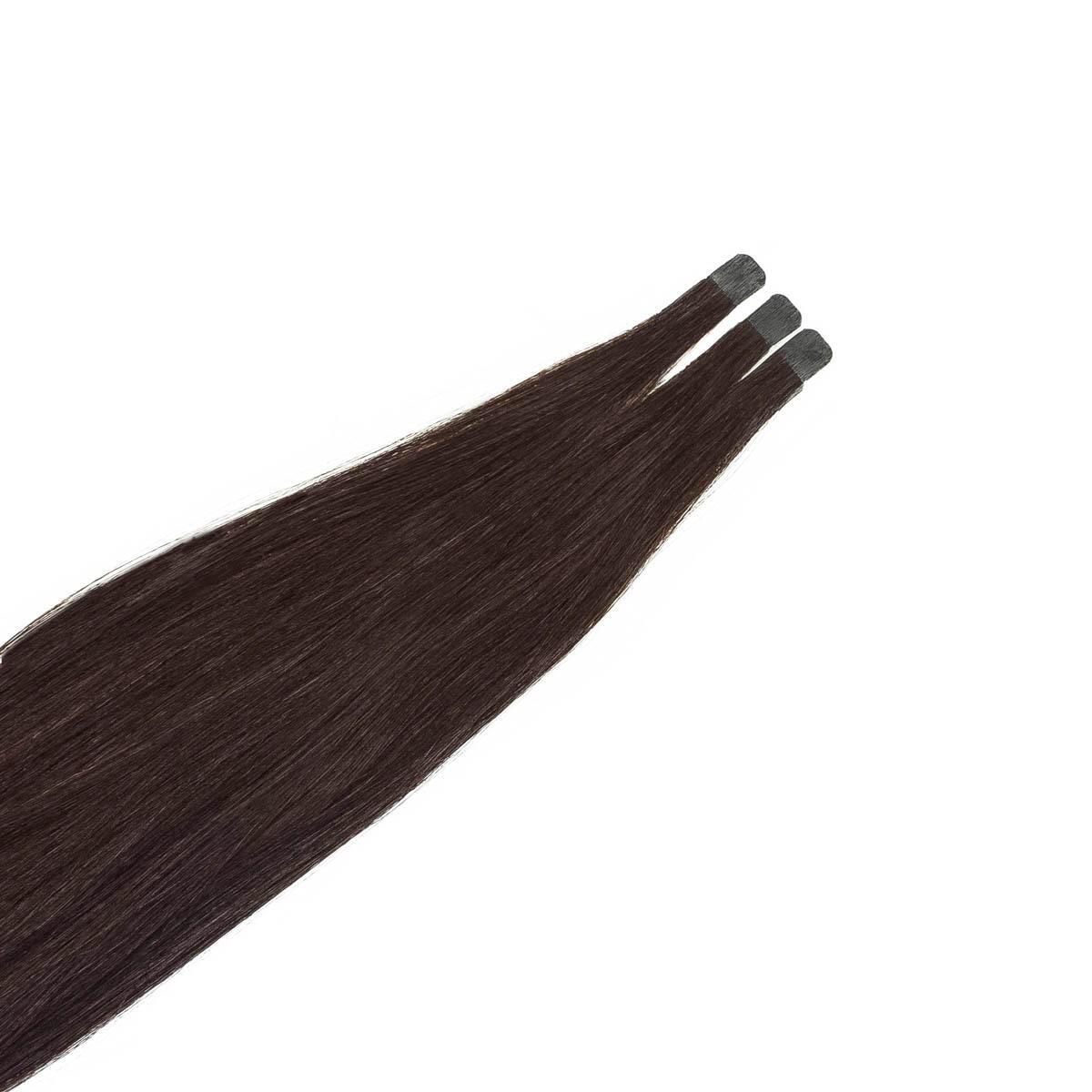 Quick & Easy Mini Premium Straight 2.3 Chocolate Brown 30 cm
