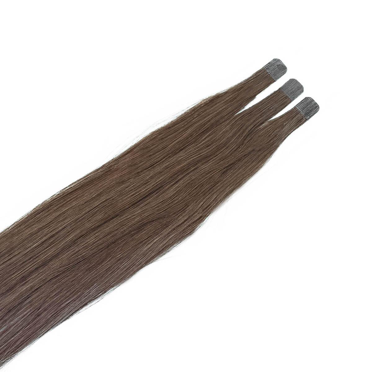 Quick & Easy Mini Premium Glatt 5.1 Medium Ash Brown 50 cm