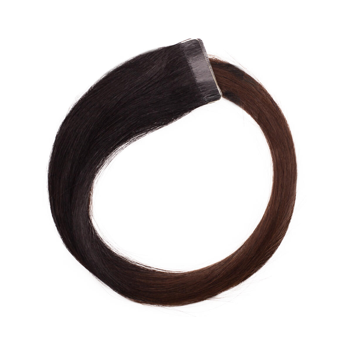 Quick & Easy Premium Glatt O1.2/2.0 Black Brown Ombre 40 cm