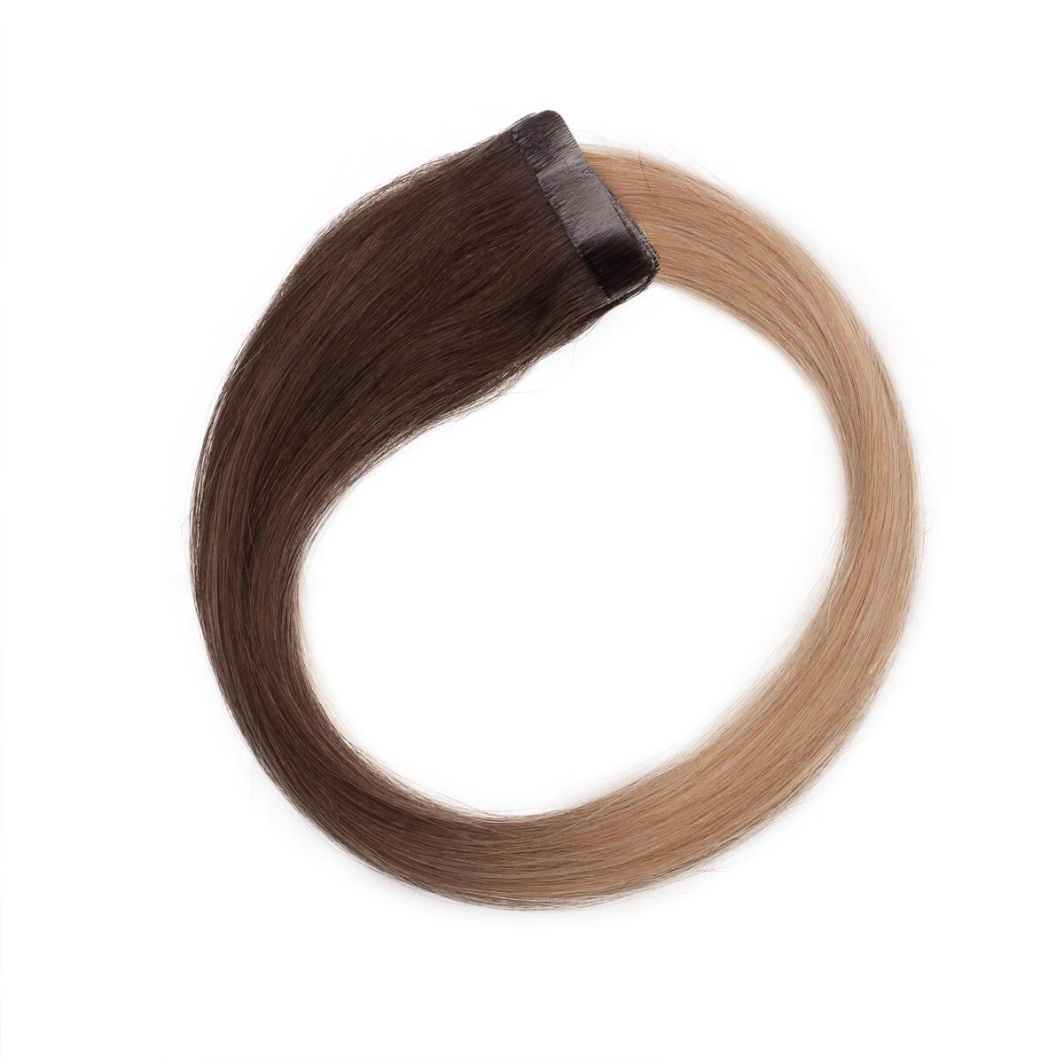 Quick & Easy Premium Glatt O2.6/8.0 Dark Ash Blond Ombre 50 cm