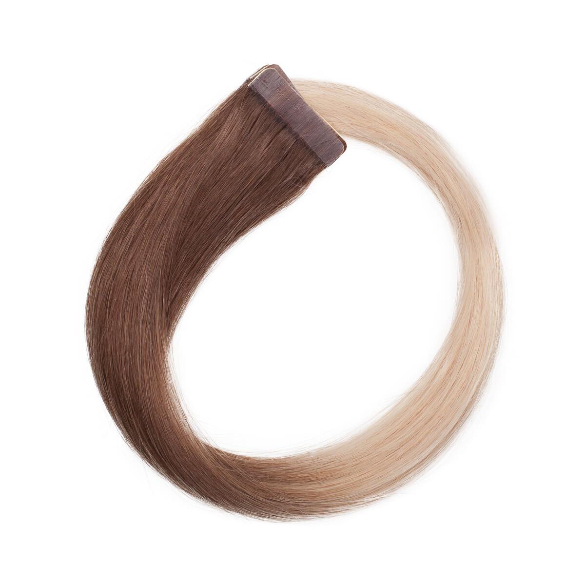 Quick & Easy Premium Glatt O5.1/10.8 Medium Ash Blond Ombre 50 cm