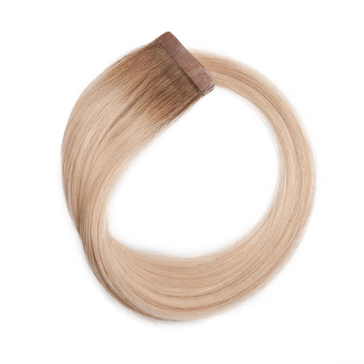 Quick & Easy Premium Glatt R7.3/10.8 Cendre Ash Blonde Root 50 cm