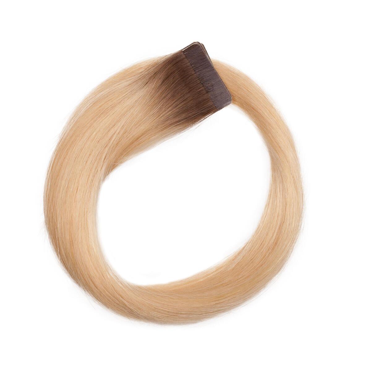 Quick & Easy Premium Glatt R7.5/8.3 Ash Brown Honey Blonde 50 cm