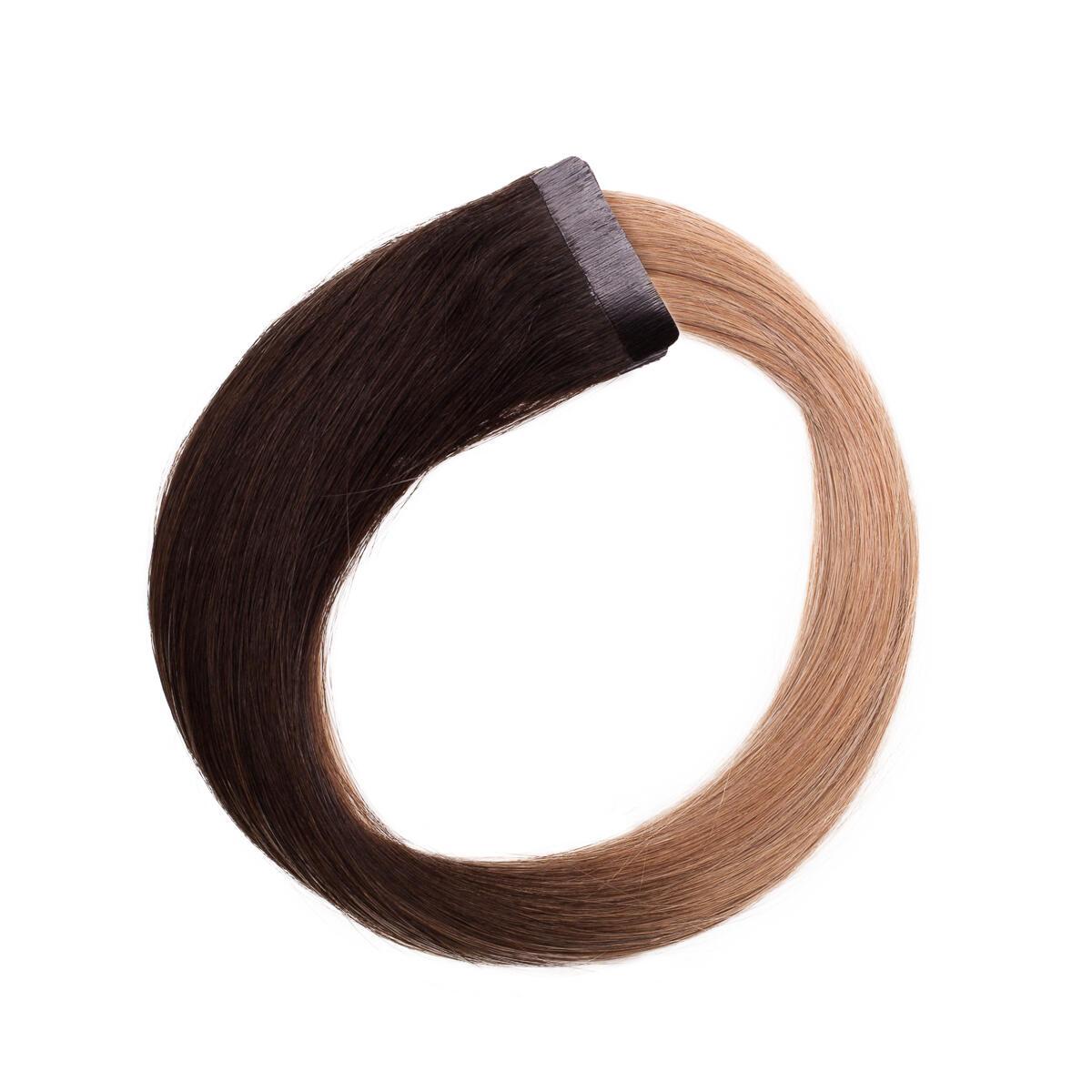 Quick & Easy Premium Glatt O1.2/7.5 Black Blond Ombre 40 cm