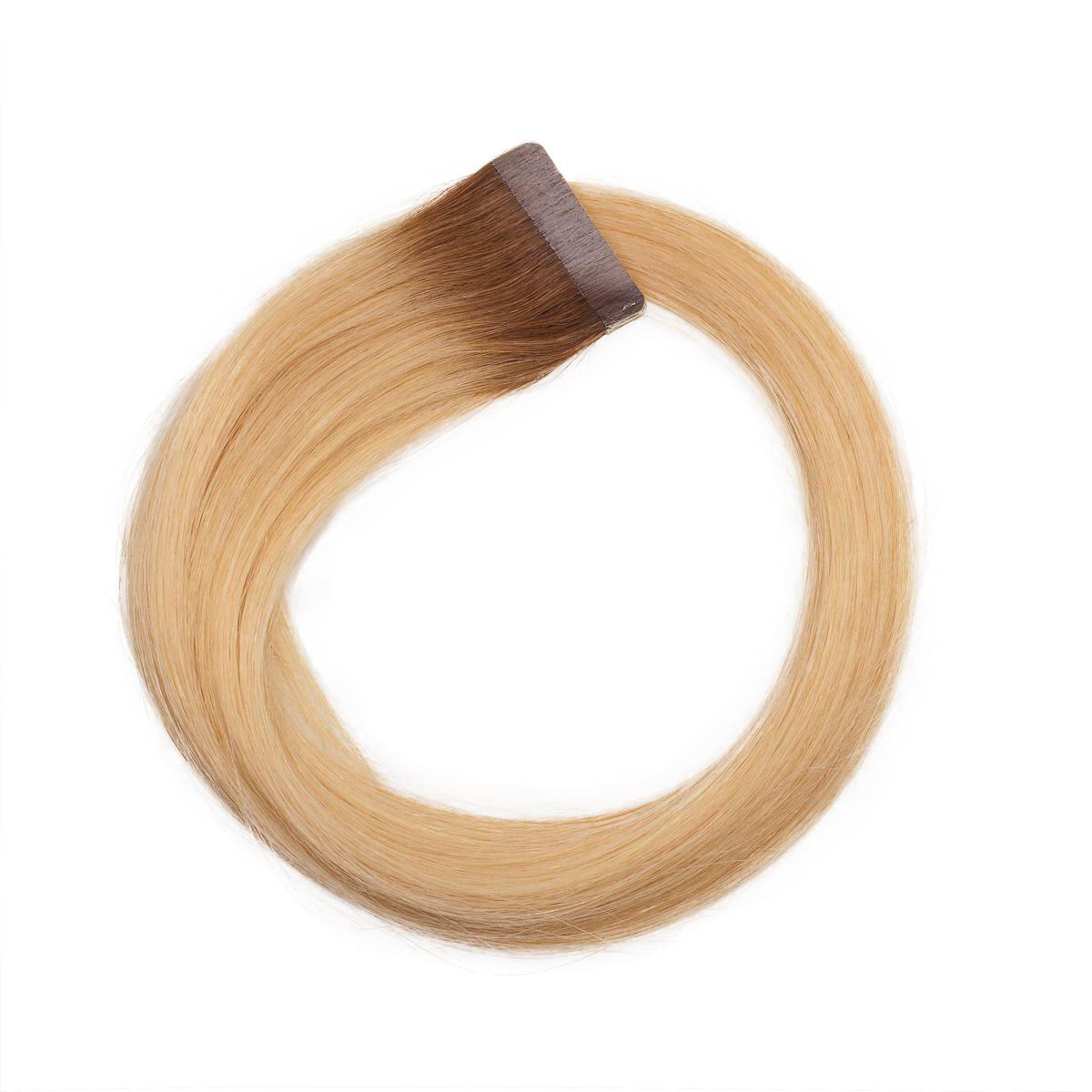Quick & Easy Premium Glatt R5.0/8.3 Brown Honey Blonde Root 50 cm