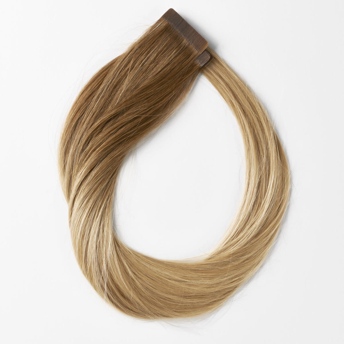 Quick & Easy Original Glatt B5.4/7.2 Cinnamon Blonde Balayage 50 cm