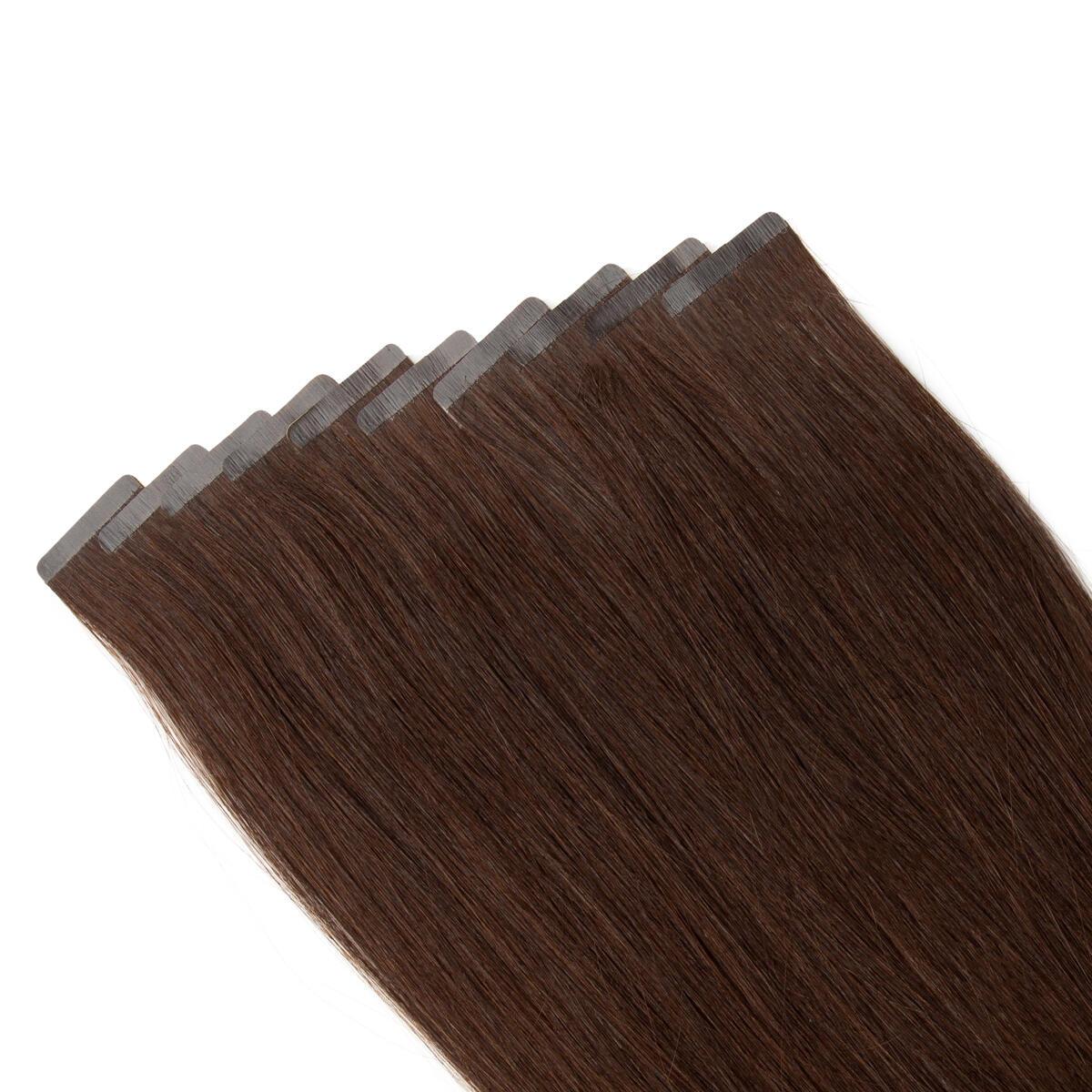 Rapunzel Sleek Tape Extension 2.3 Chocolate Brown 45 cm