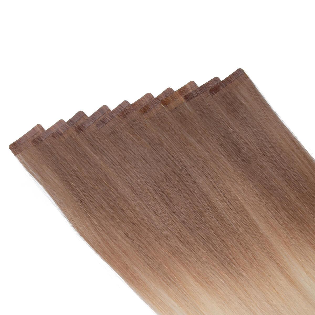 Rapunzel Sleek Tape Extension O7.3/10.8 Cendre Ash Blond Ombre 45 cm