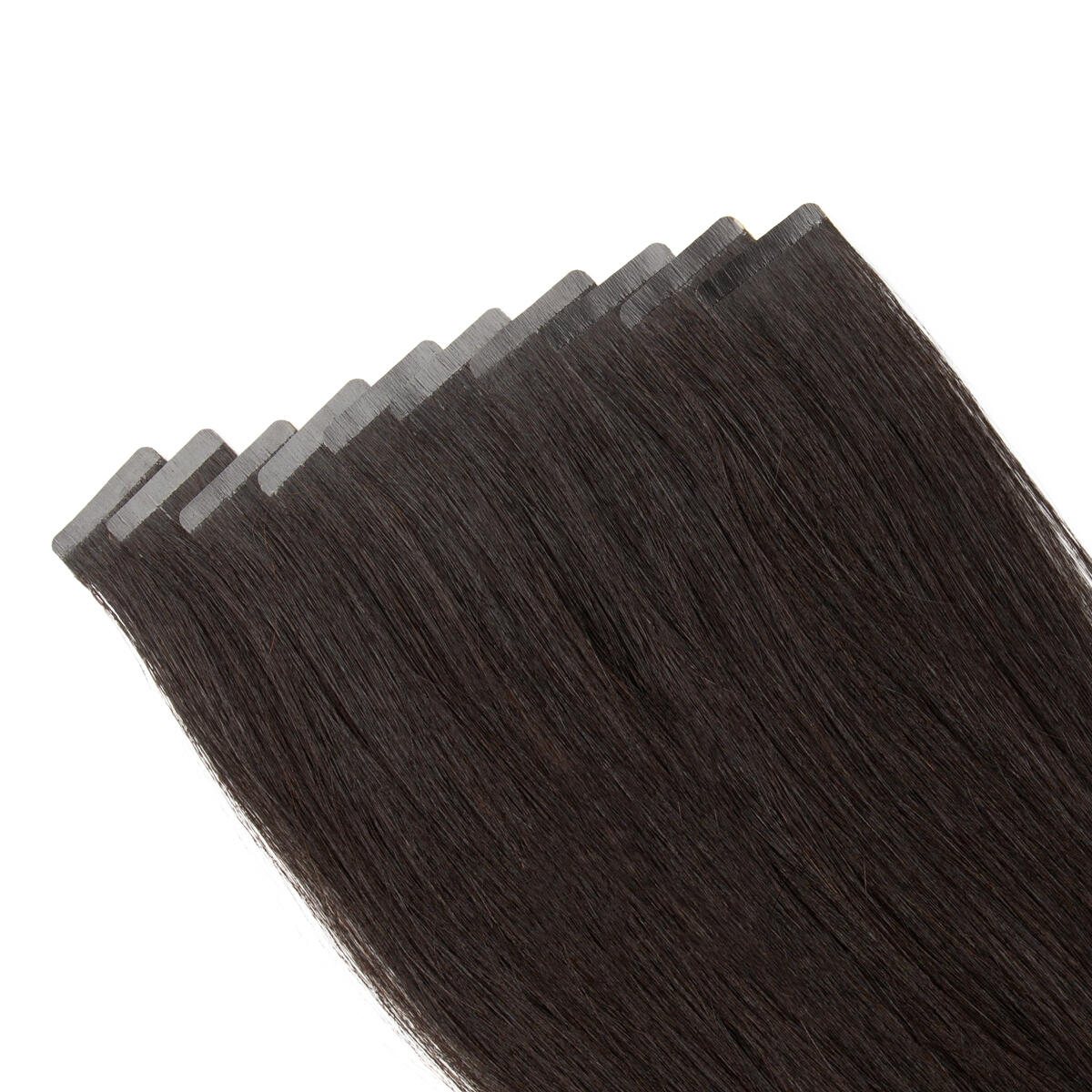 Rapunzel Sleek Tape Extension 1.2 Black Brown 25 cm