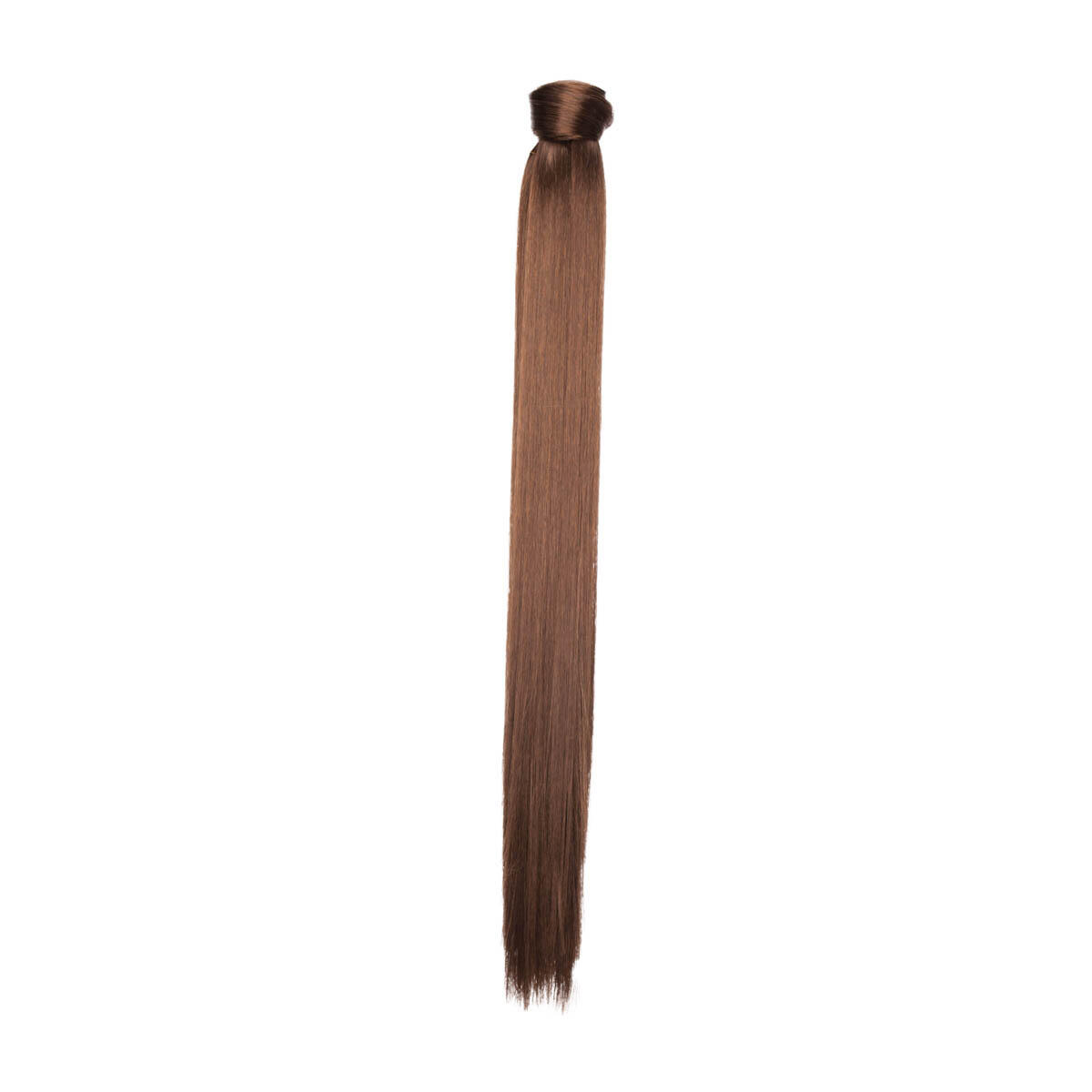 Clip-in Ponytail Synthetic 2.0 Dark Brown 50 cm