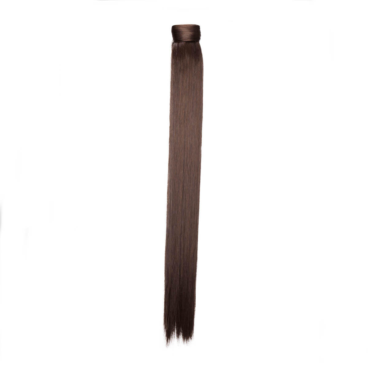 Clip-in Ponytail Synthetic 2.2 Coffee Brown 50 cm