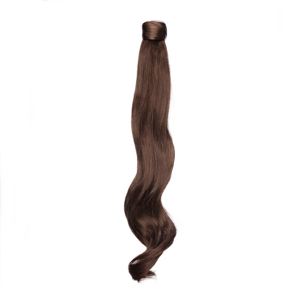Clip-in Ponytail Synthetic Beach Wave 2.3 Chocolate Brown 50 cm