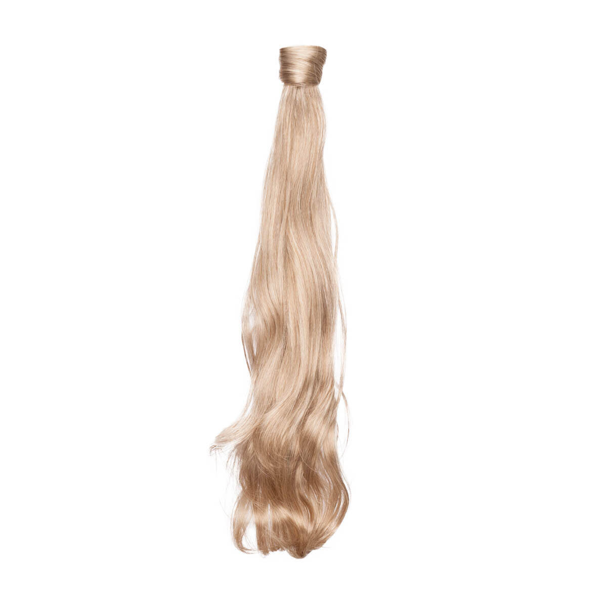Clip-in Ponytail Synthetic Beach Wave 9.6 Natural Ash Blonde 50 cm