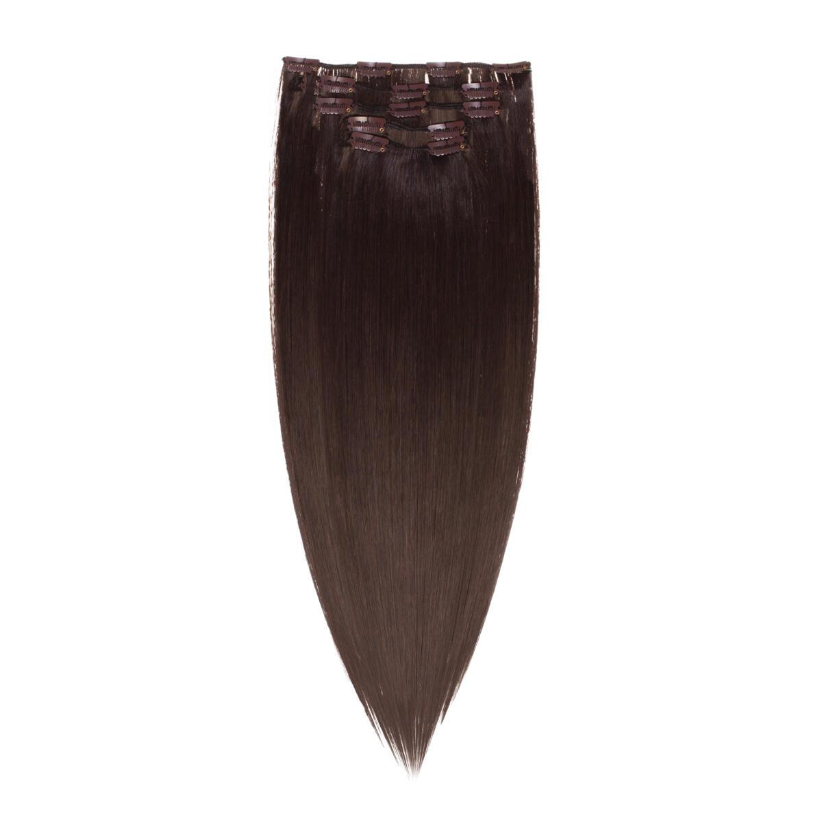 Clip-on set 2.3 Chocolate Brown 50 cm