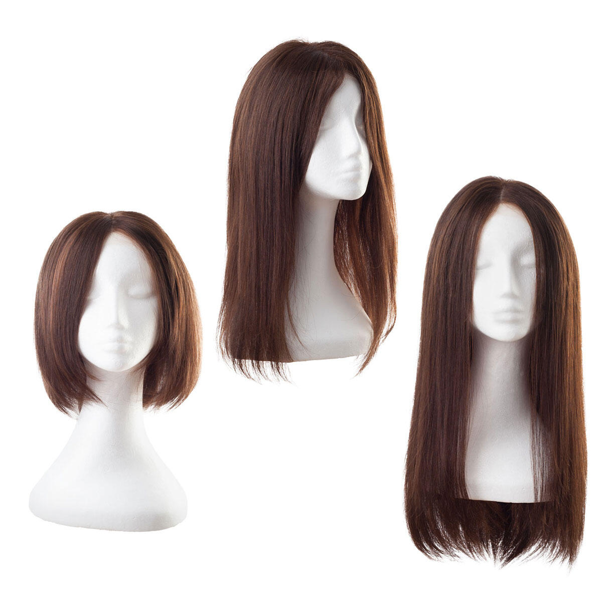Lace Wig 2.3 Chocolate Brown 55 cm