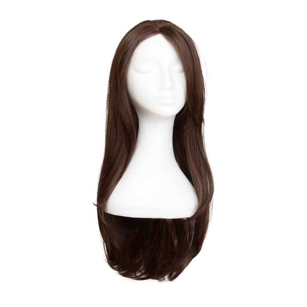 Lace Front Perücke Long 2.2 Coffee Brown 60 cm
