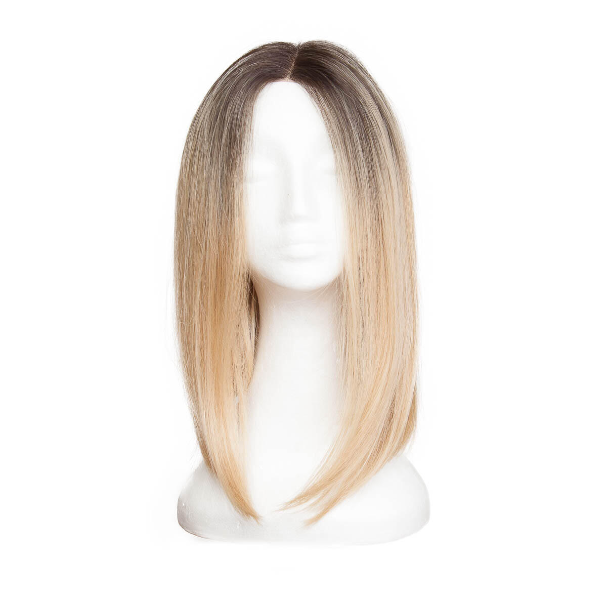 Lace Front Wig O2.3/9.0 Chocolate Brown/Scandinavian Blond 40 cm